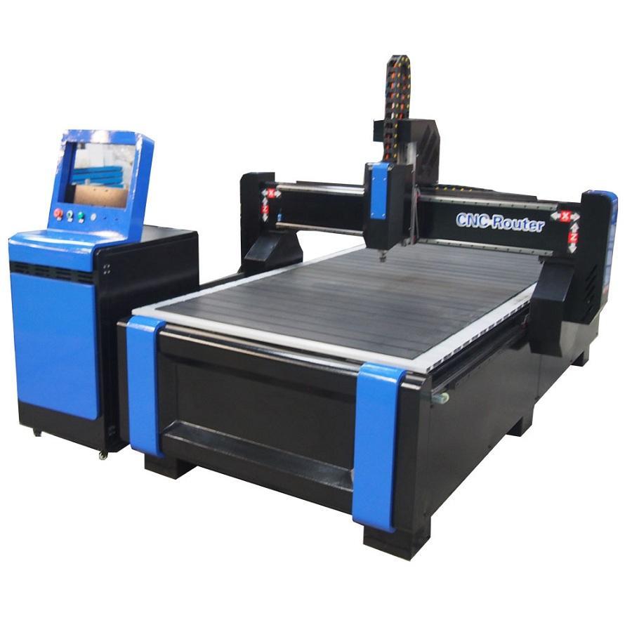 Most Popular Ncstudio DSP Controller 1325 Wood CNC Router Price For Furniture Wood Door MDF Aluminum 4*8 Ft CNC Cutting Machine