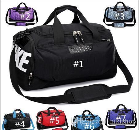 Bolsa de hombro de equipaje de mano a prueba de agua Bolsas de calzado de entrenamiento deportivo Bolsa de baloncesto Bolsos de viaje Bolsa de lona de viaje al aire libre Totalizador
