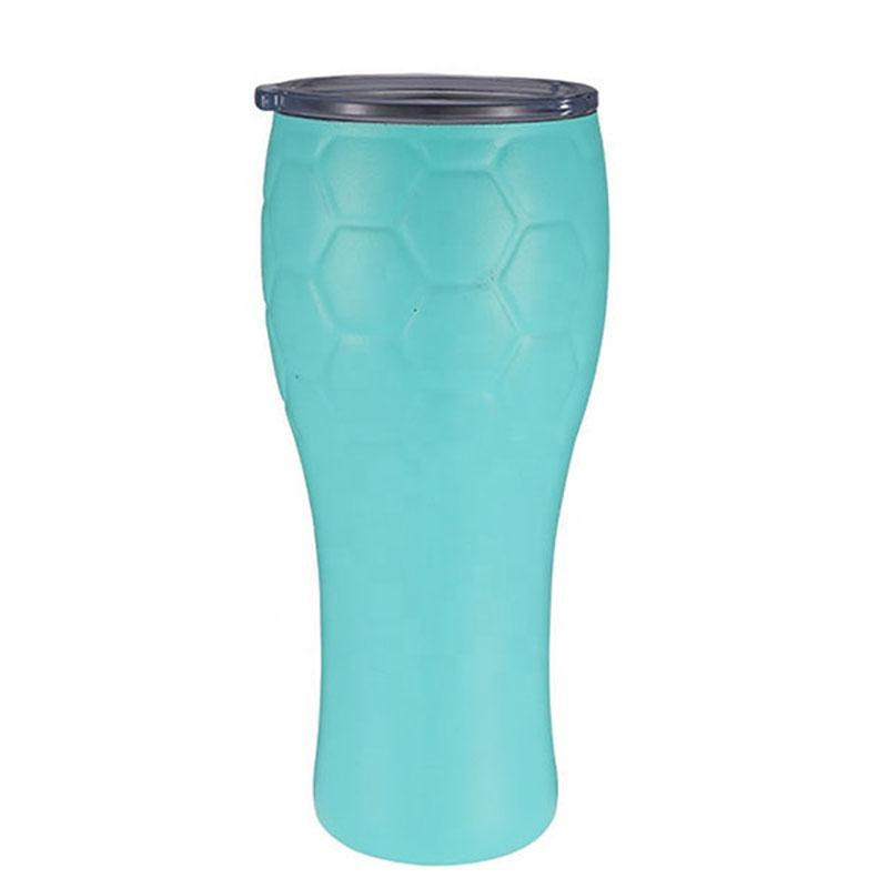 Новый оптовый логотип изготовленный на заказ 700 мл 18/8 стакан из нержавеющей стали с крышкой-костюм для дома, офиса и подарочной чашки