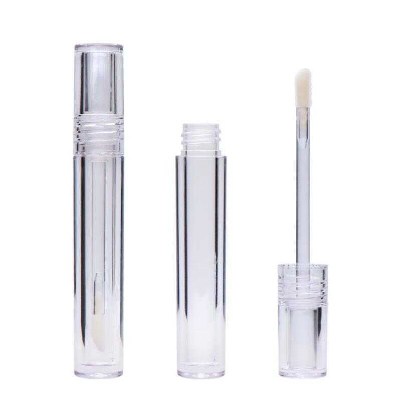 Lip Gloss tubos vazios 7,8 mL Lipgloss tubos redondos transparente Lip Gloss tubos com Wand Esvaziar Limpar LX2660