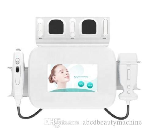 2 em 1 de ultra-sons de lipo HIFU LipoSonix + HIFU para emagrecimento LipoSonix frente da máquina de elevação do corpo de perda de peso LipoSonix beleza corpo facial