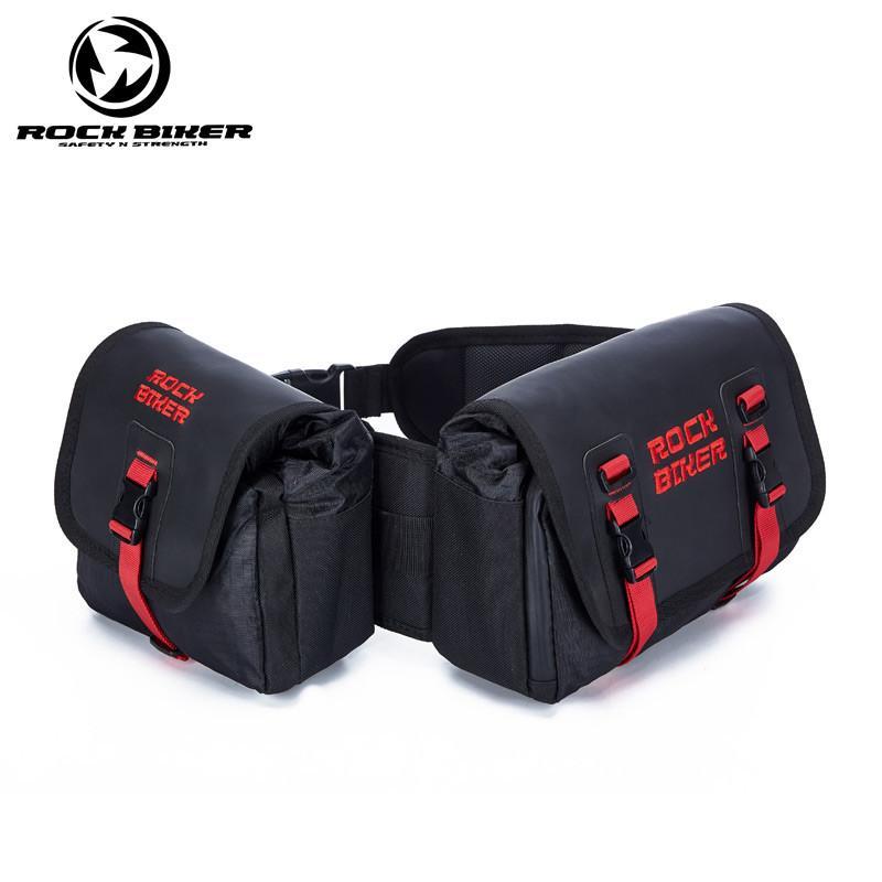 Lluvia de la bolsa de la motocicleta diario Mochila bolsa de viaje por carretera de motocross montar en moto mochilas hombres bolsa de equipaje de moto Add-on paquete
