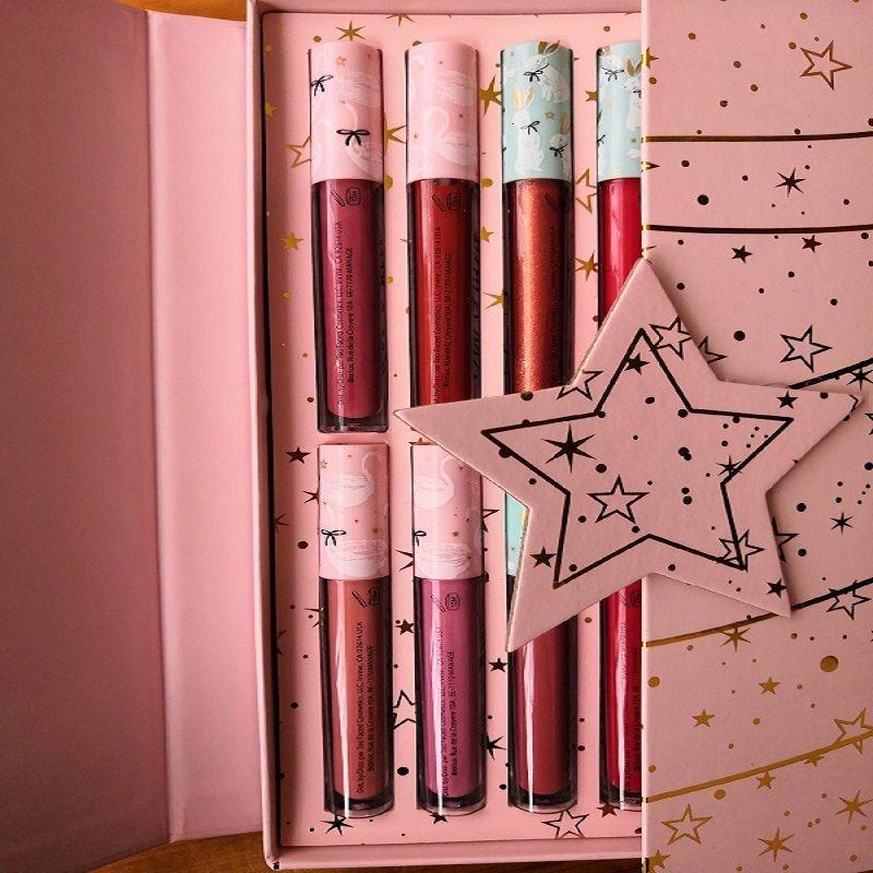 브랜드 메이크업 세트 고품질 12 색 립 컬러 크리스마스 선물 상자 립 색상 크리스마스 선물 무료 배송