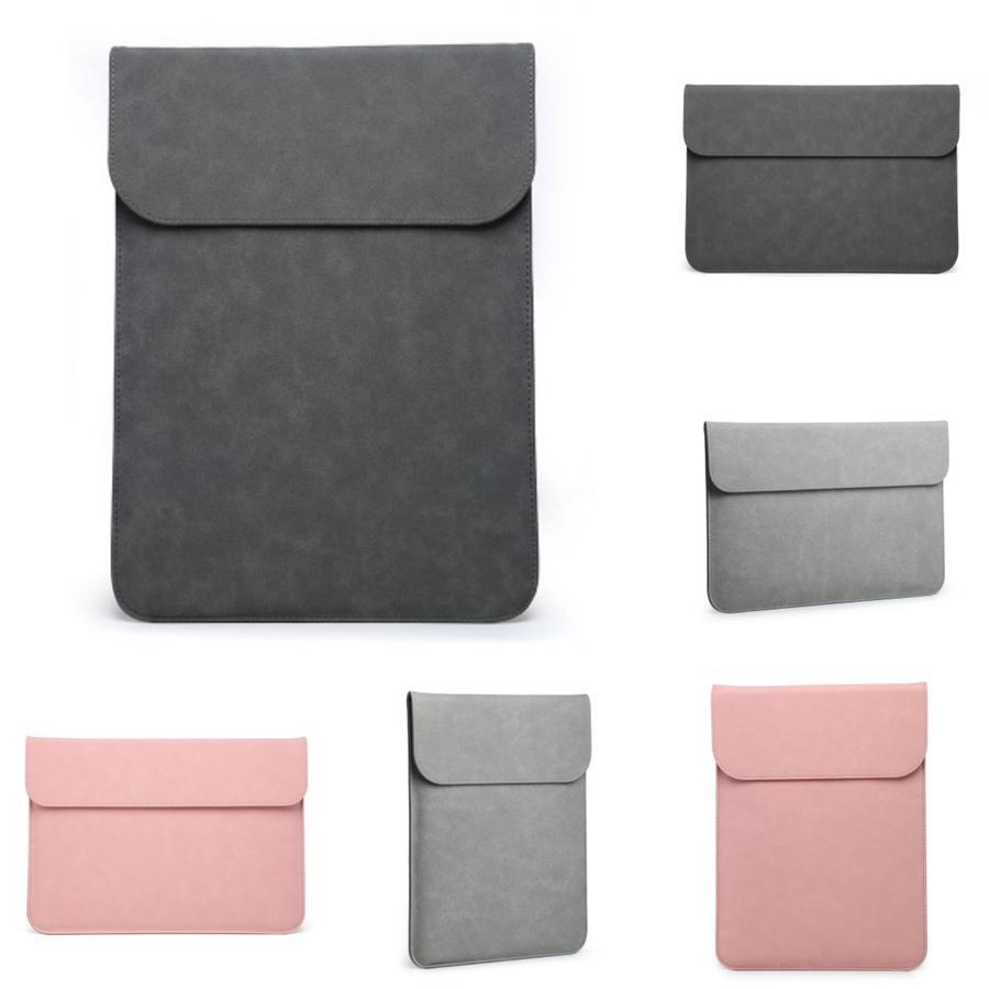 Мода новый Pu водонепроницаемый устойчивый к царапинам ноутбук сумка 13 14 15 дюймов ноутбук плечо чехол для переноски Macbook Air #601