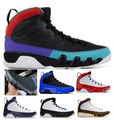 Mens 9 9s Basketball-Schuh-Turnschuh-Racer Blau Gym Red Dream Es UNC OG Space Jam Anthrazit Statue Reflektierende Mann Körbe Schuhe