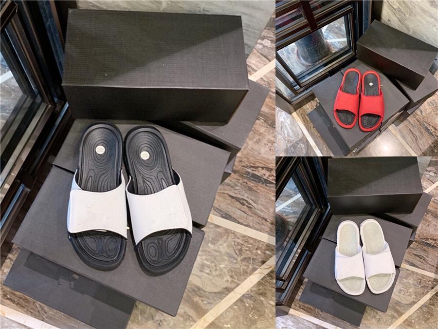 2020 Vintage Kristal Terlik Kadınlar Deri Boncuk Düz Terlik Kadınlar Bohemian Plaj Sandal Ayakkabı Plus Size Yaz Moda Kadın # 575