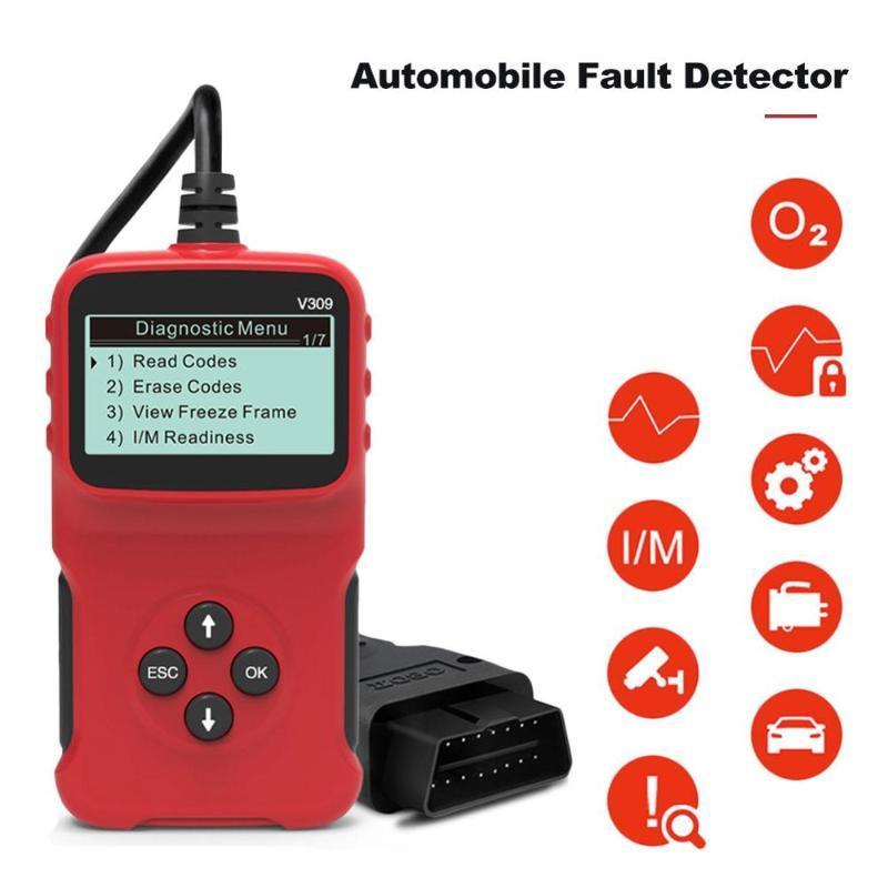OBD2 Scanner Car Code Reader OBDII OBD 2 Scan Tool Check Engine Fault Code Read PK MM32L073 Creader