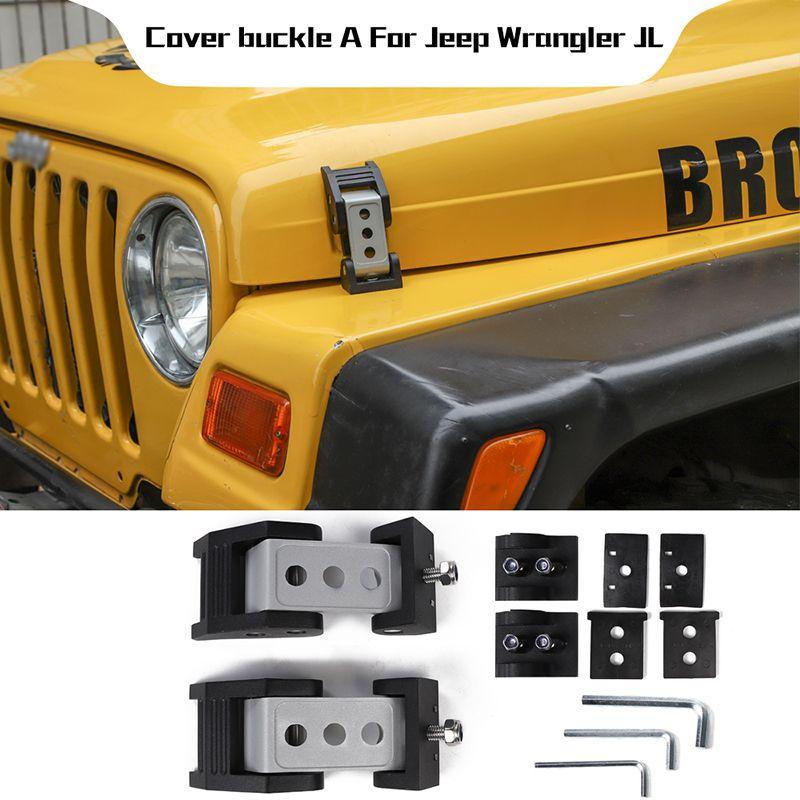 No//Brand Alliage Loquet Support de Capot pour 1997-2006 pour Catch Jeep Wrangler TJ