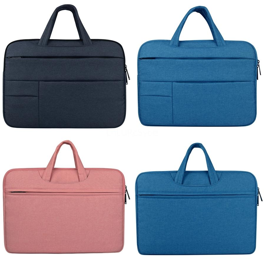 Custodia in pelle Aiyopeen Pu Laptop Sleeve con supporto supporto Bag per MacBook Air 11 Air 13 Pro 13 Pro 15 pollici # 528