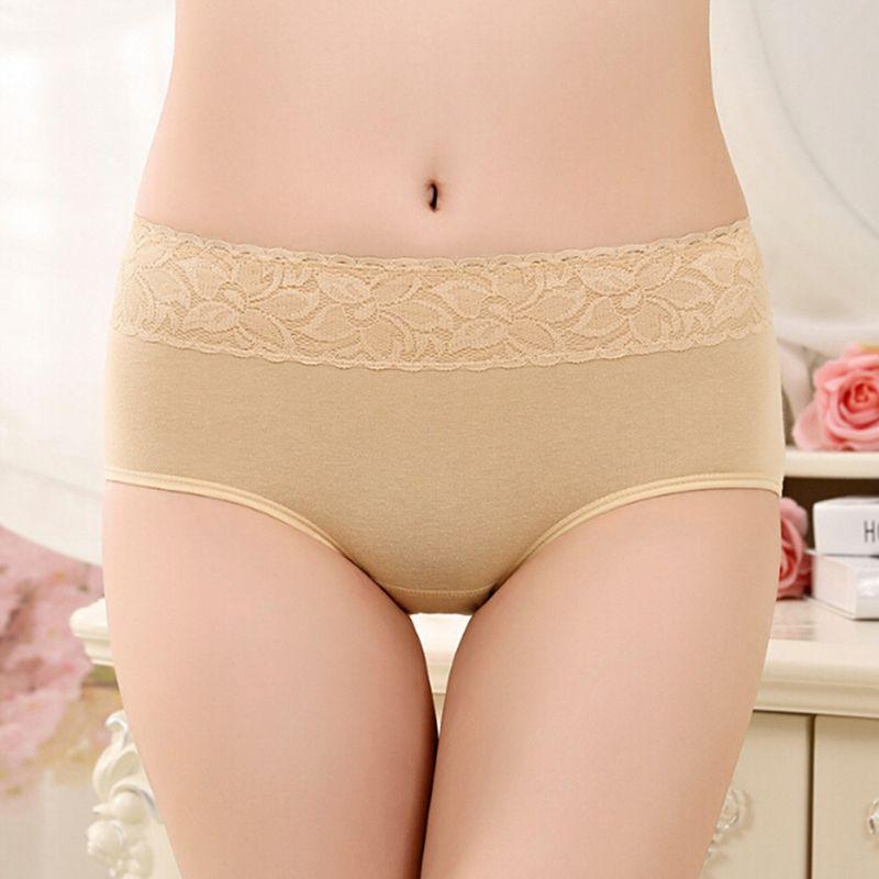 Period Seamless Leakproof Physiological Underwear Panties Women Briefs