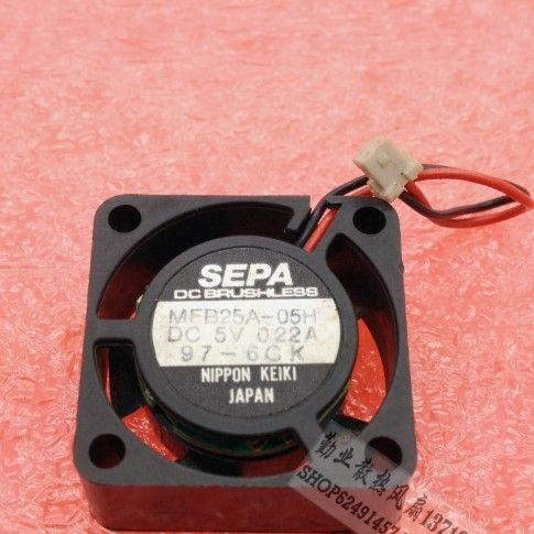 Nouveau gros SEPA original 2510 MFB25A-05 5V 0.20A ventilateur de refroidissement
