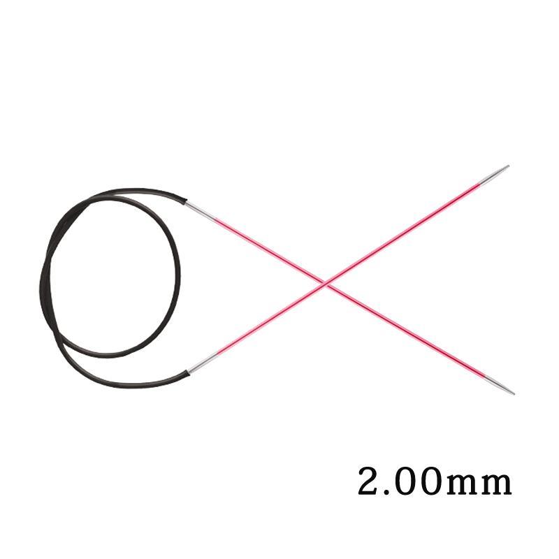 1 шт Knitpro Zing 80 см фиксированная круглая Вязальная игла красочный алюминий DIY искусство ремесла шитье