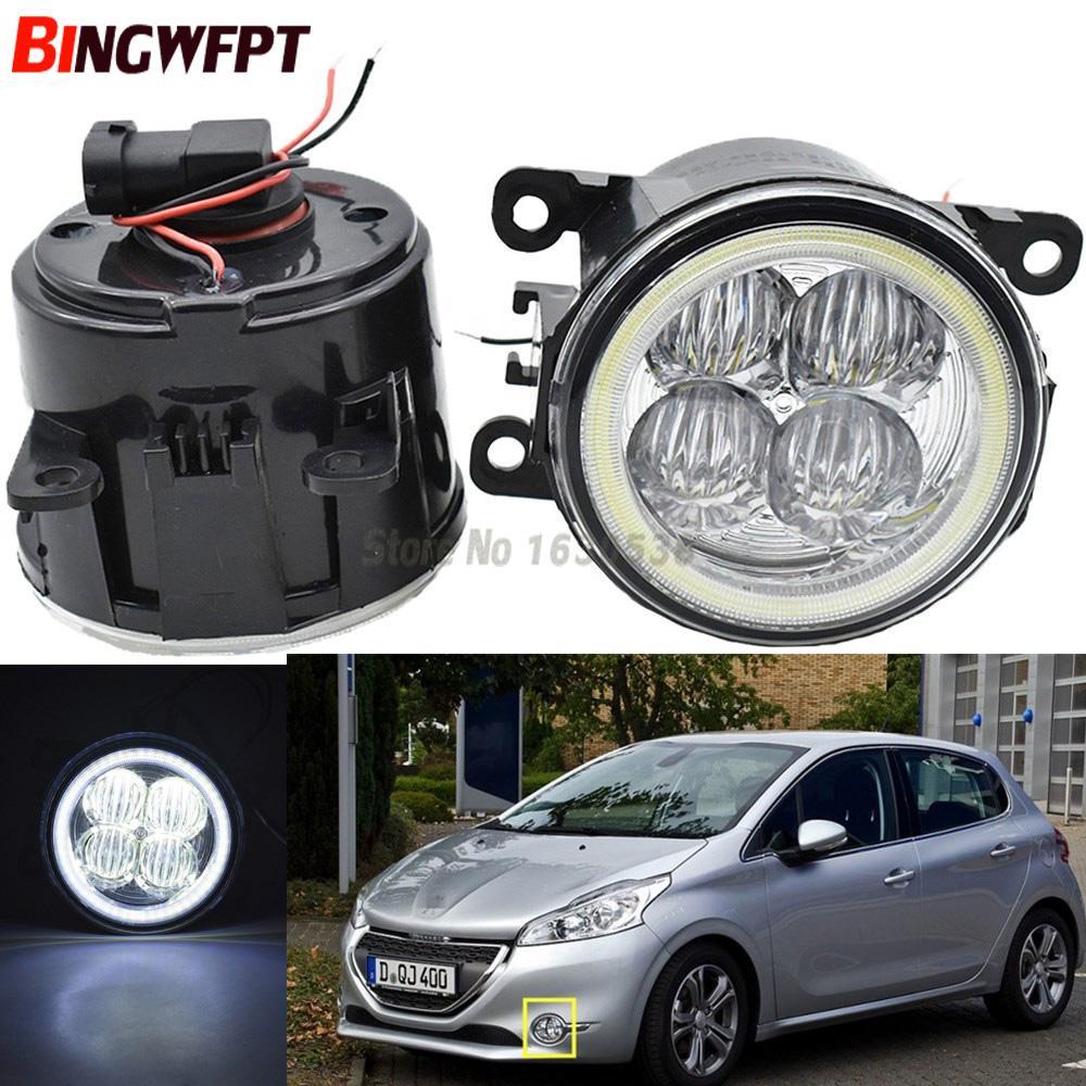 2x White H11 H8 H9 LED Super Bright Fog Driving Light for Acura 2013