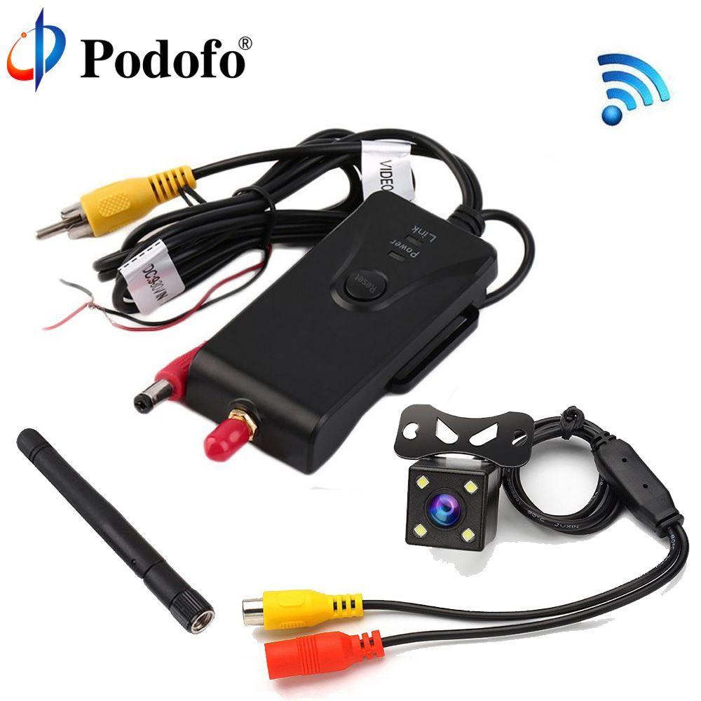 Car Backup Camera Wireless WiFi Transmitter Shockproof Rainproof DC Interface