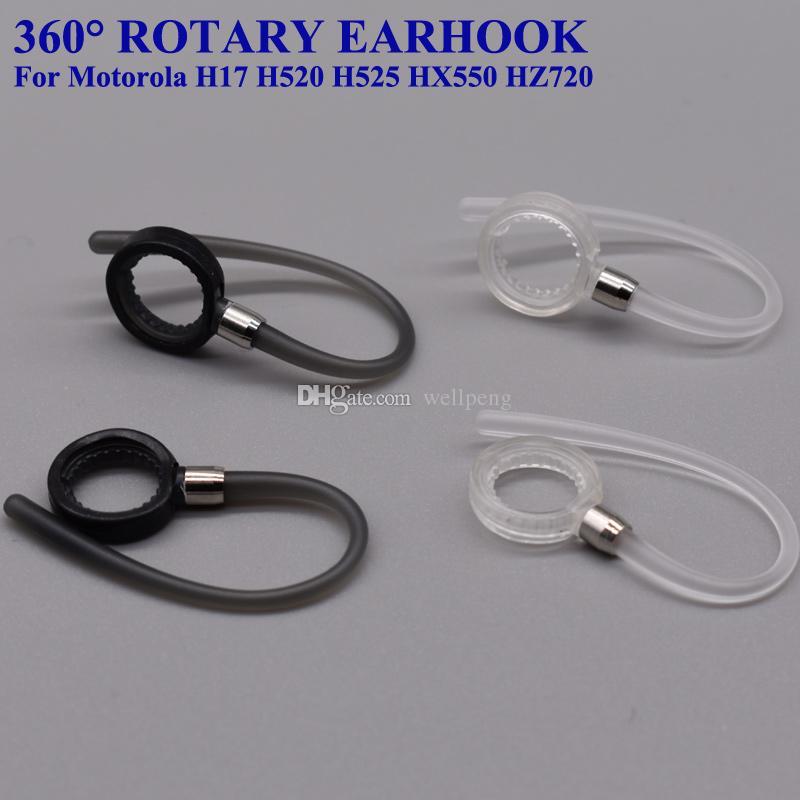 Для Motorola Н17 H520 H525 HZ550 и Bluetooth замена гарнитура крепления наушников петлевыми креплениями клипсы 360 градусов поворотный уха крючки