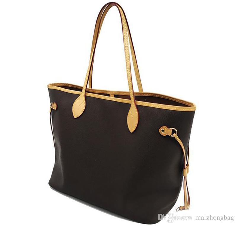 Naverfull mongram clássico v venda tote viajar mulheres sacos bolsas de ombro bolsas de embreagem estilo quente sacos de compras aieim