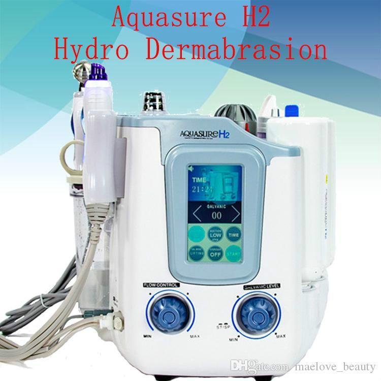 2019 NEW Professional Korea H2 O2 oxygen Hydrogen Aquasure Facial Aqua Peel Hydra water jet Skin Rejuvenation beauty Machine