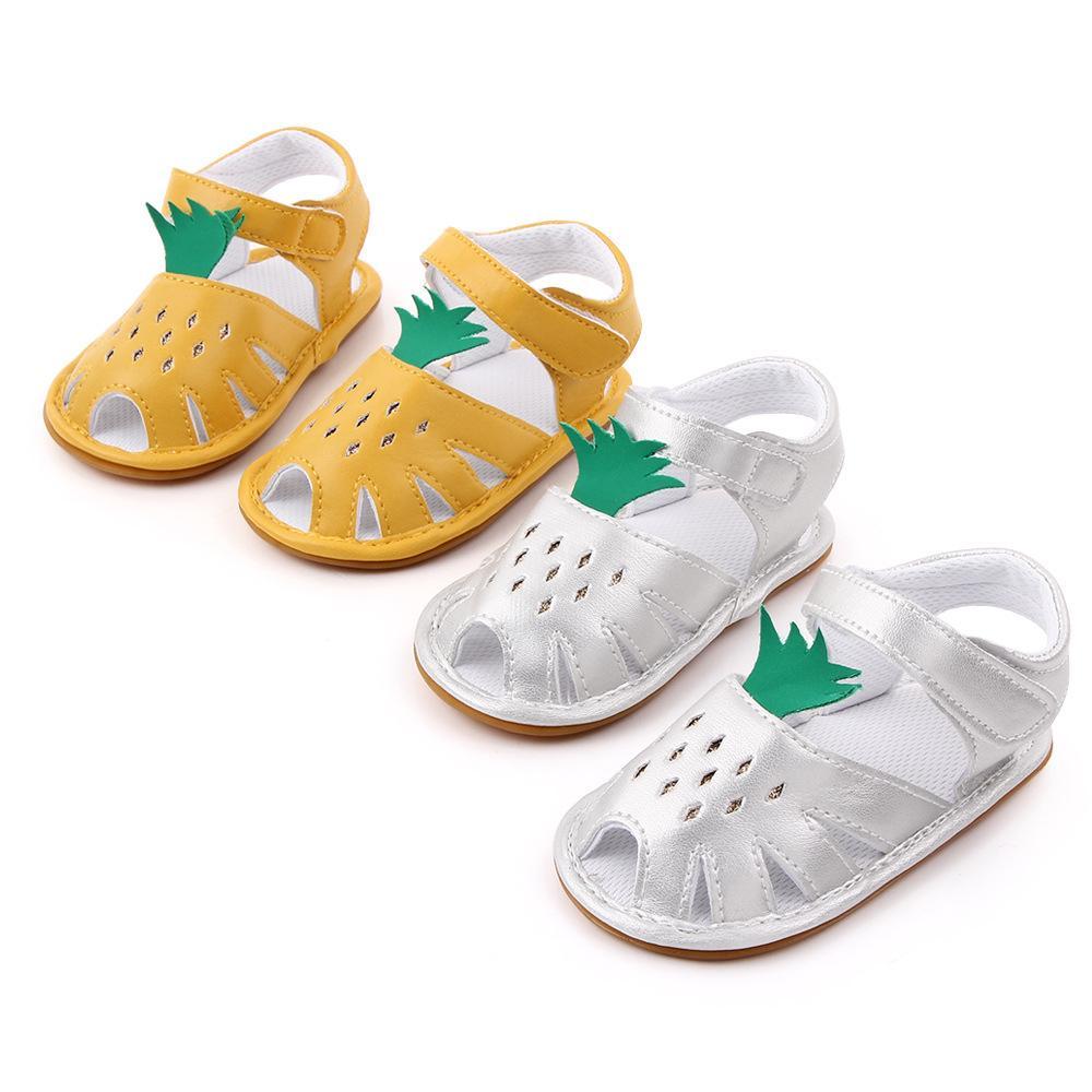 Summer Baby Girls Pineapple Sandals