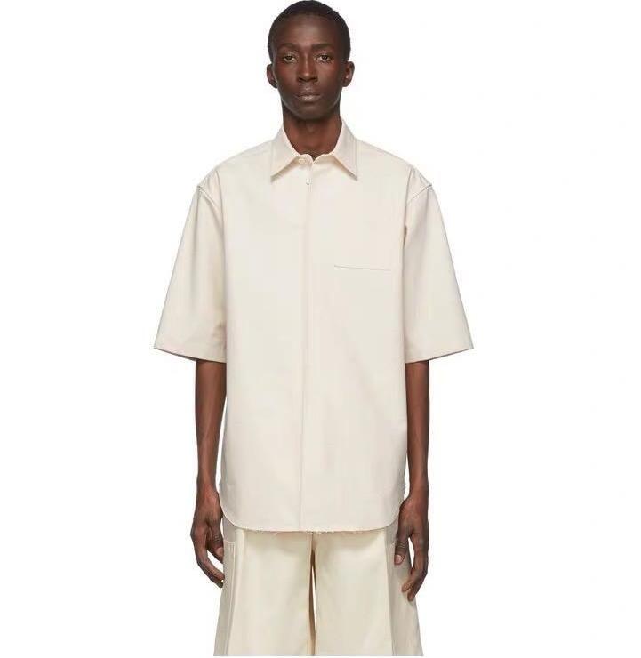 горячий продавать 2020SS JILSHIRT письмо логотип простой короткий рукав фуфайки холст тройник моды Мужчины Женщины Повседневная футболка