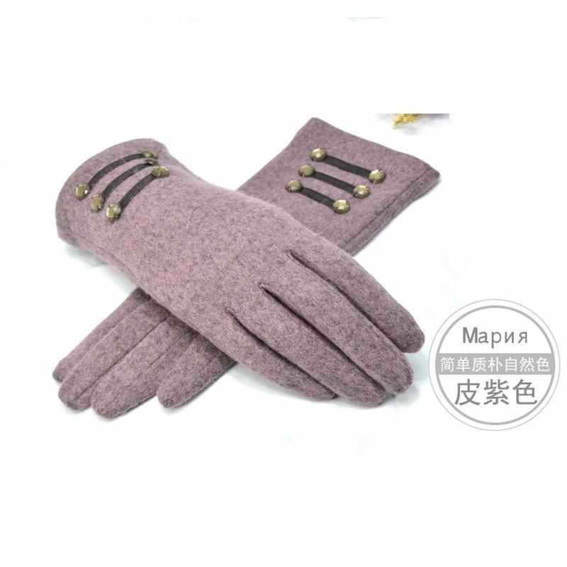 2016 Automne hiver Ladies Gants en laine élégant sélectionl Gants Femmes de haute qualité Mitten extérieur poignet pour femmes