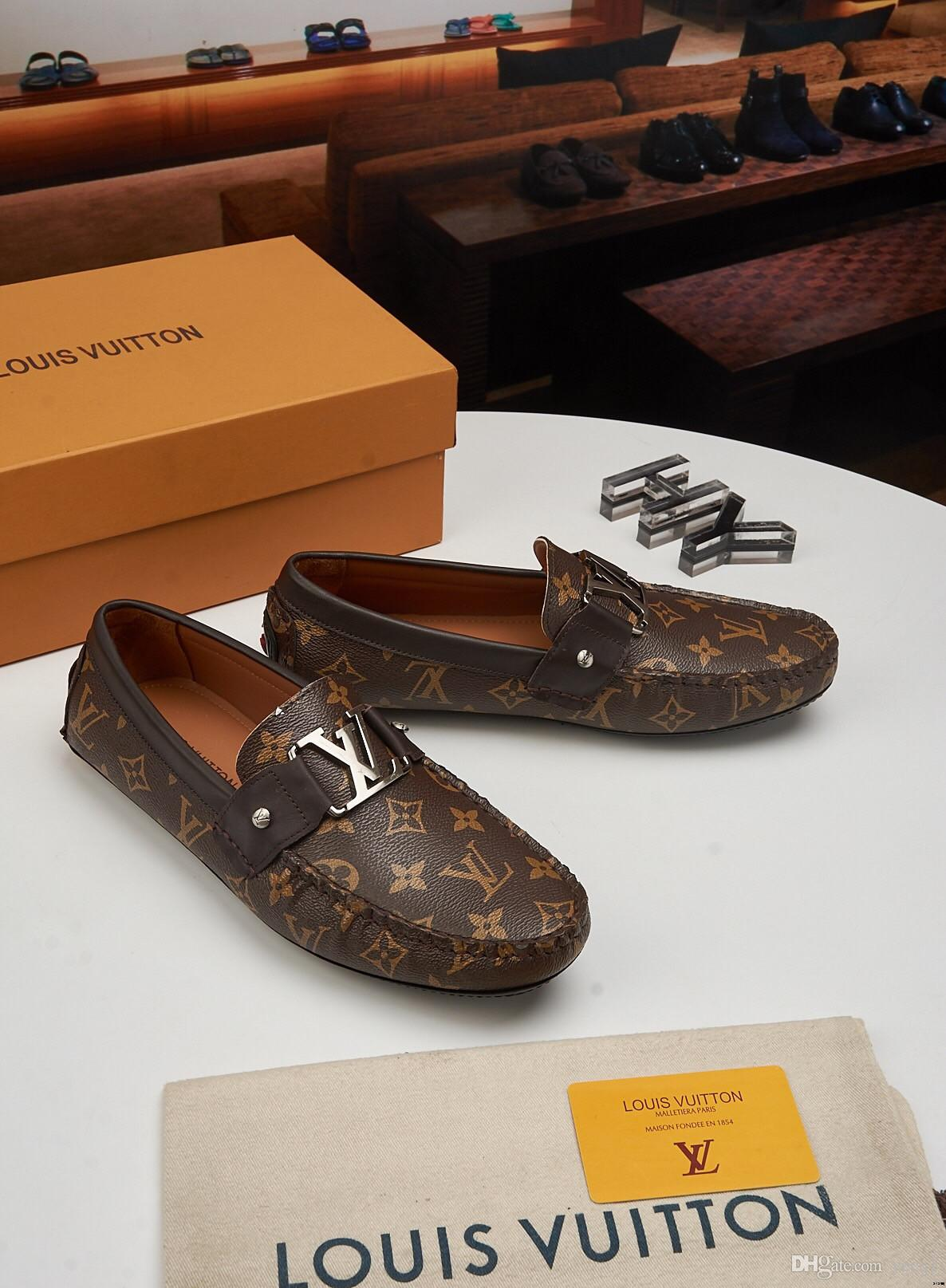 Hommes Chaussures 2018 NOUVEAU Hommes Mocassins Été 18ss Automne Hiver Chaussures Hommes Chaussures Bas Homme Casual Sapatos Tenis Masculino