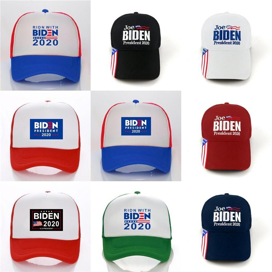 Chapeaux Designer Casquettes Hommes Donald Biden 2020 Caps Baseball font de l'Amérique Grand Encore une fois Chapeau de broderie Sports de ballon Chapeau d'extérieur Plage Voyage A0023 # 57