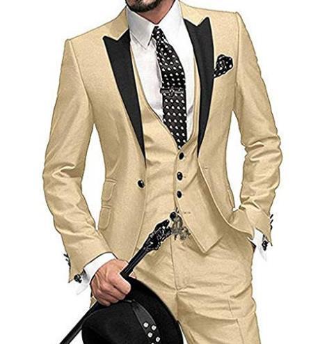 Vestiti Eleganti Uomo Colorati.Acquista Abito Da Sposo Classico Colorato Viola Classico Con