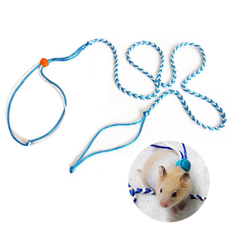 Tavşan Hamster Kayışlar Açık Tavşan Sincap Pet yq01174 için Pet Aksesuar Pet Ayarlanabilir Tasma Yaka Leads