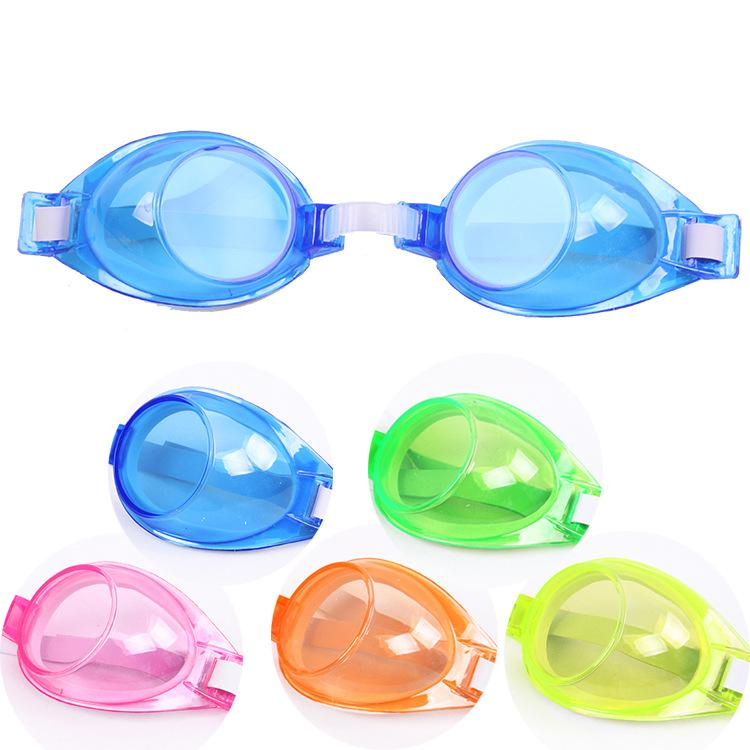 Children swimming mirror male and female students silica gel waterproof fog-proof casual swimming glasses