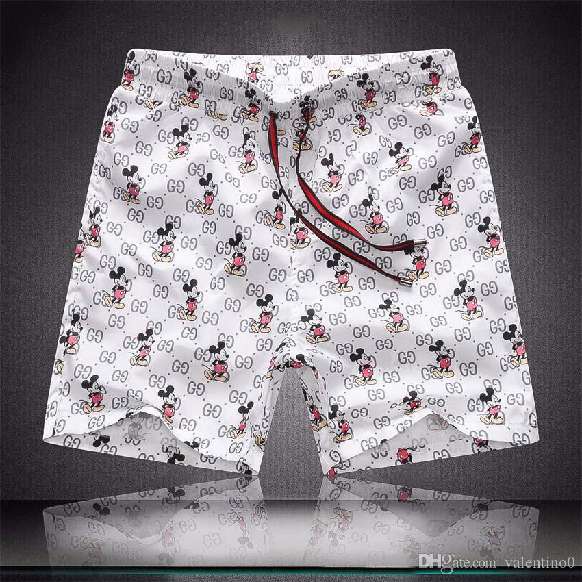 2020 impermeable de tela de los pantalones de la pista de lujo de diseño de verano pantalones de la playa de la Junta para hombre Shorts Shorts Surf troncos de nadada Sport Shorts