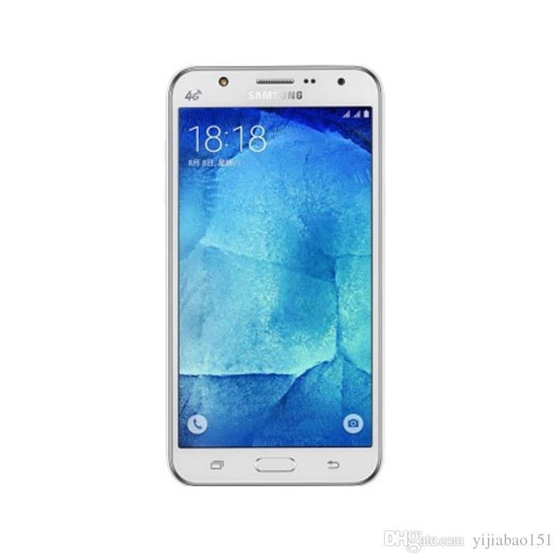 تم تجديد هاتف سامسونج جالكسي J5 J500F مفتوح للهاتف الخليوي رباعي النواة ROM 16 جيجا بايت 5.0 بوصة 13 ميجابيكسل
