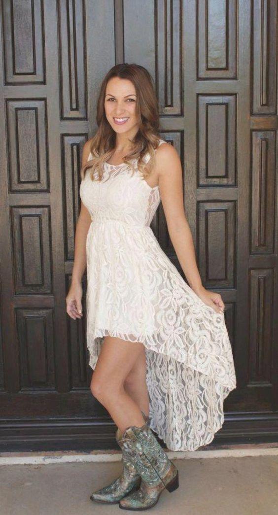 Simple Cheap Country Hi Low Wedding Dresses Jewel Neck Lace Bodice Short Front Long Back Ruched Vestido De Novia Cheap Wedding Bridal Gowns