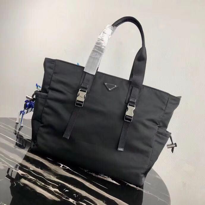 High-End Tote 2VG042 Пользовательские классические сумки итальянские мужские повседневные портфель мужской дизайнерский бизнес стиль нейлоновый холст дизайнерская сумка SBDGE