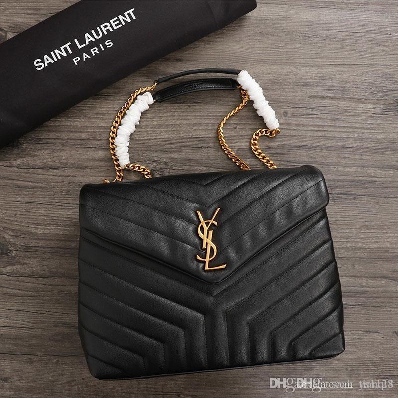 designer de 2020 bolsa saco de luxo designer de ombro de couro e bolsa corrente de metal de lona das mulheres modelo decoração borla: 26821 A123