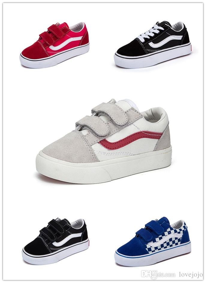 Hot Sale Children Sneaker 2019 New Spring Children's Canvas Boys Girls Sports shoes Fashion Kids Jean Canvas Casual