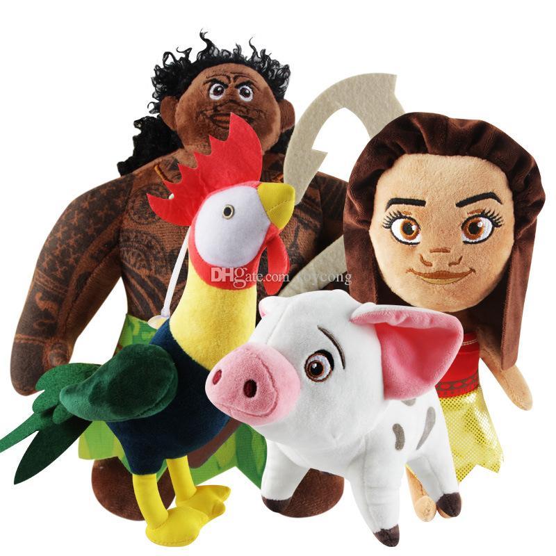 20cm Film Princesse Jouets en peluche Hei Pua peluche Poupée cadeau de Noël Anime jouets pour enfants Figures
