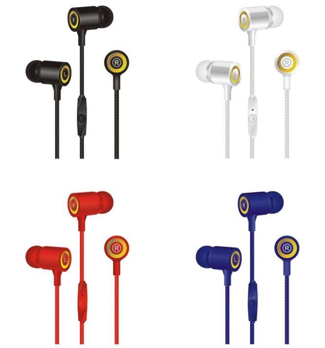 mikrofon YOK kutu ile CY-029 CY-30 CY-42 CY-43 Kulaklık Eller Serbest Evrensel 3.5mm Kulak Kulaklık bas Kulaklık stereo kulaklık stereo kulaklık