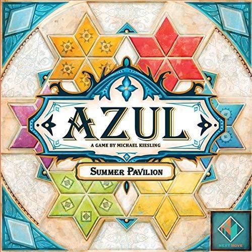 Azul Summer Pavilion English Version Cards Game Brick Master Board Game