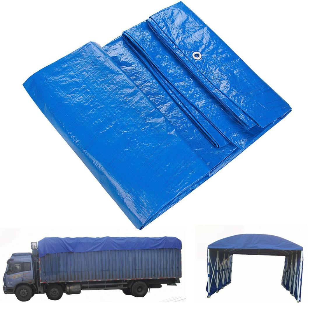 Vehicle 4m x 6m Outdoor Tarpaulin Sheet Cover Waterproof Heavy Duty Camping