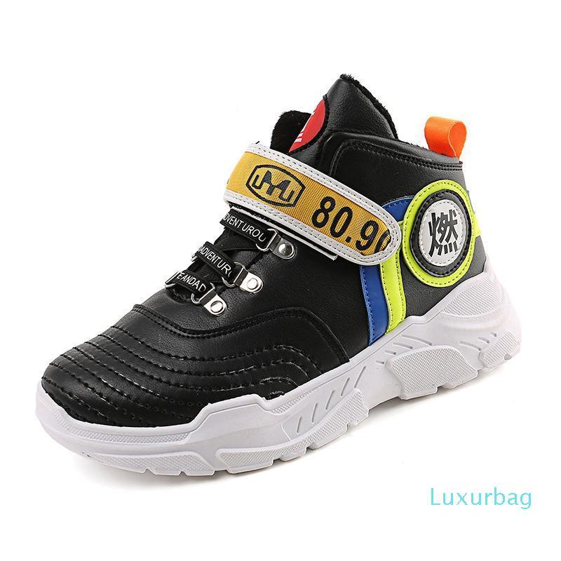 Yeni stil orta üst ayakkabı kış Kore versiyonu eğlence artan hip-hop dans tahta ayakkabıları sıcak erkek moda