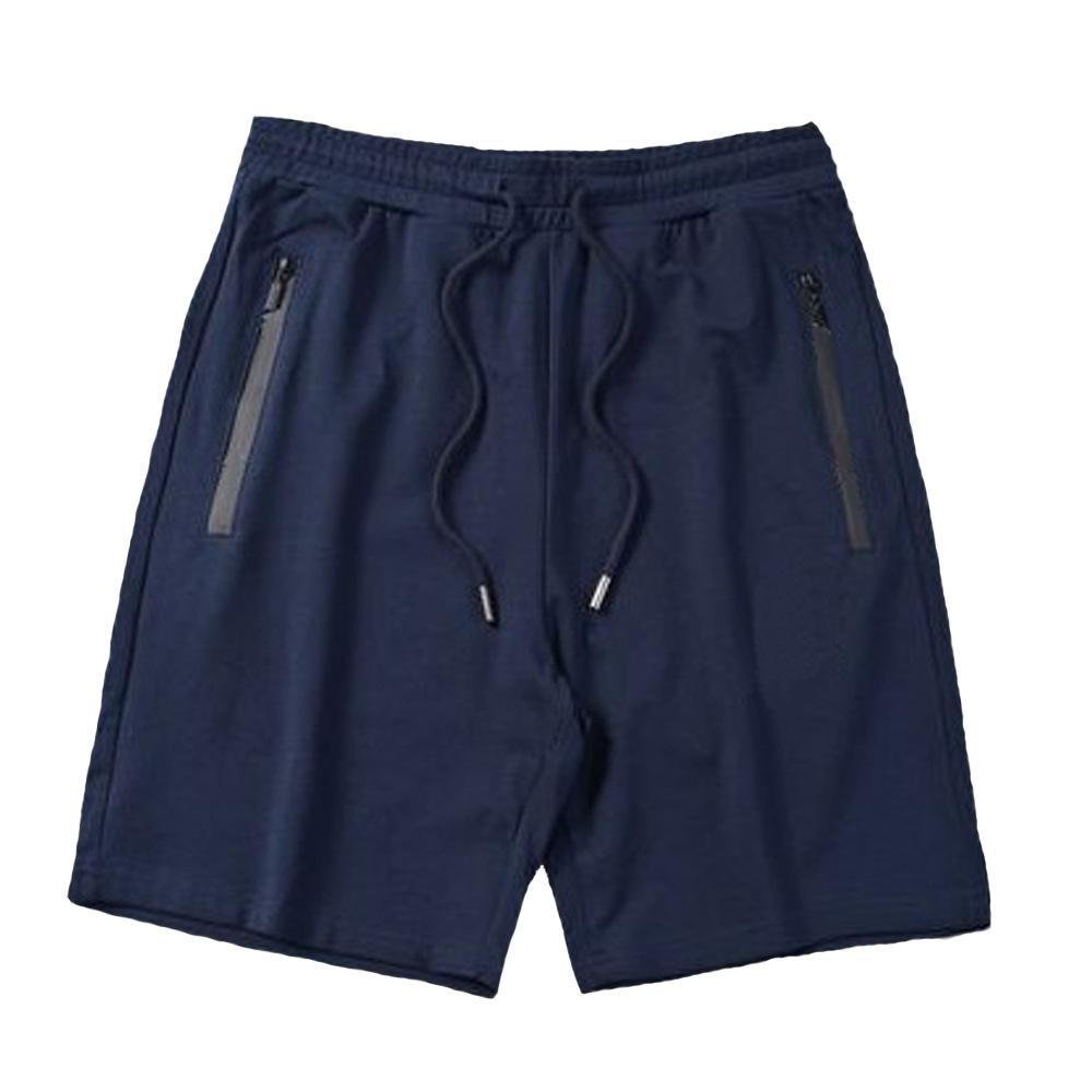 Yeni yaz erkek şort gevşek geniş büyük boy kısa erkekler rahat ev pantolon bacak şort plaj pantolon Beden M-3XL-2