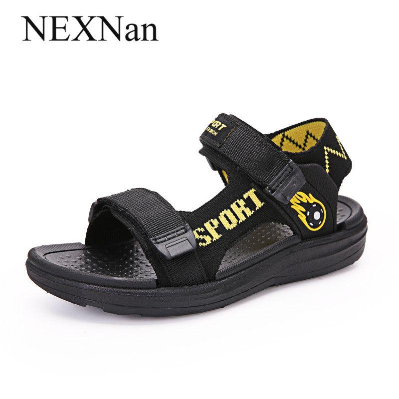 NEXNan estate dei bambini dei sandali dei ragazzi delle ragazze dei pattini dei sandali per bambini Scarpe Mesh traspirante Cut-outs Outdoor School Calzature Open-toe
