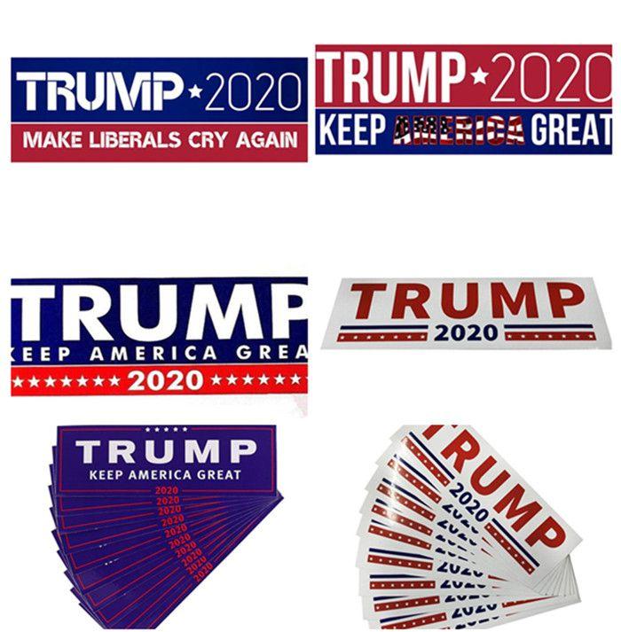 Горячая Дональд Трамп 2020 наклейки на автомобиль 7.6 * 22.9 см наклейка на бампер держать сделать Америку большой наклейка для автомобиля стайлинг автомобиля Пастер 3 новых стилей