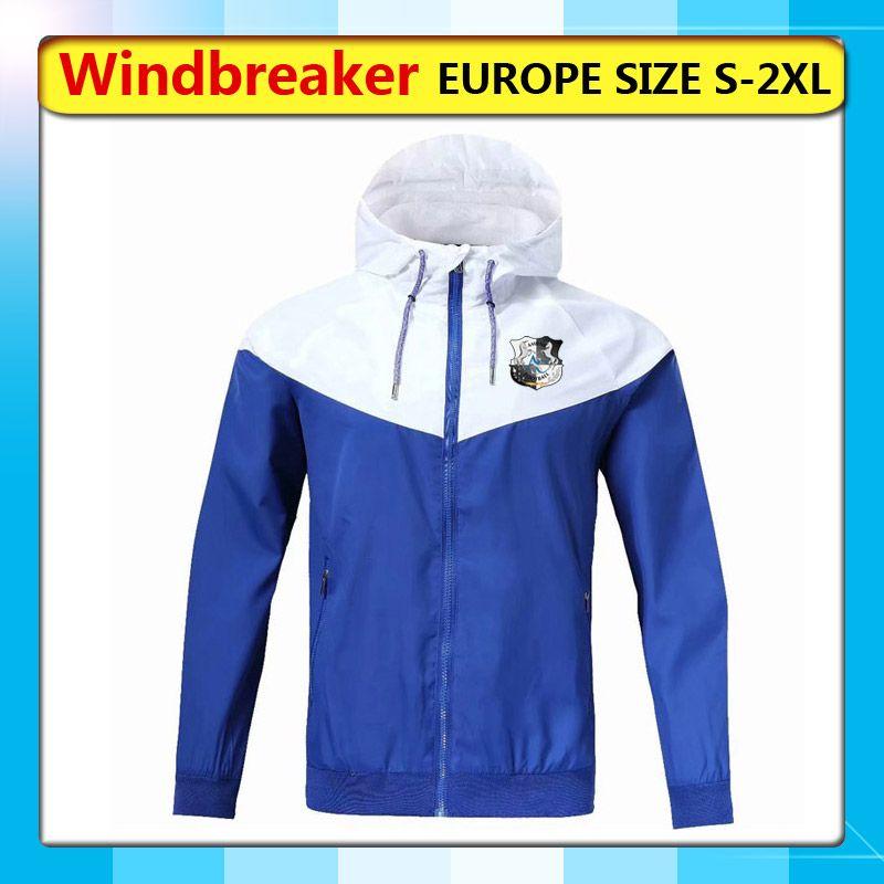 Амьен СК ветровки толстовки куртки, Амьен СК полный молнии пальто ветровка, Амьен футбол спортивные кофты ветровки работает куртки