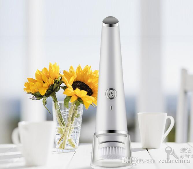 Free Express à votre porte. Un instrument de nettoyage pur usine directe douce brosse douce super wave beauté micro-vibration lavage