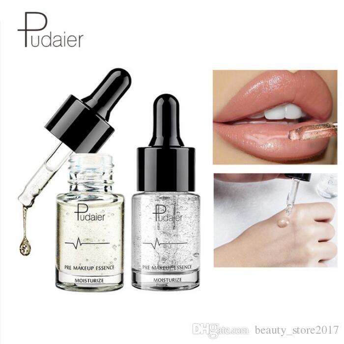 Pudaier 24K Gold Face Primer Natural Matte Make Up كريم الأساس المسام إطالة ماكياج الوجه الجلد النفط السيطرة التجميل
