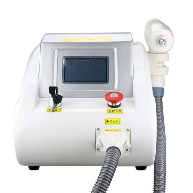 محمول Q التبديل بدون تاريخ ياج ليزر وشم آلة إزالة الجلد تجديد جهاز لصالون تجميل والاستخدام المنزلي