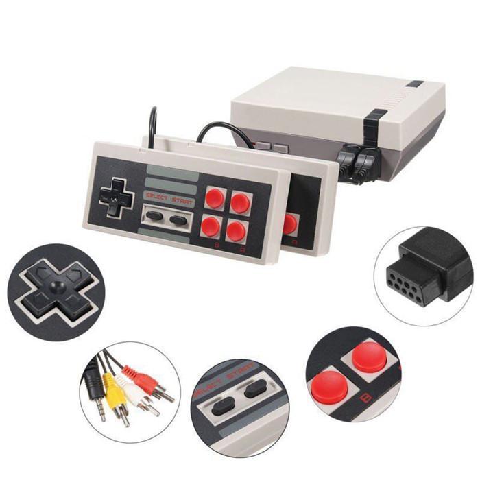 Transfronterizo de comercio electrónico dedicado a la explosión de las consolas clásicas consolas de juegos de mini casa del juego TV 620 en un 500 en una