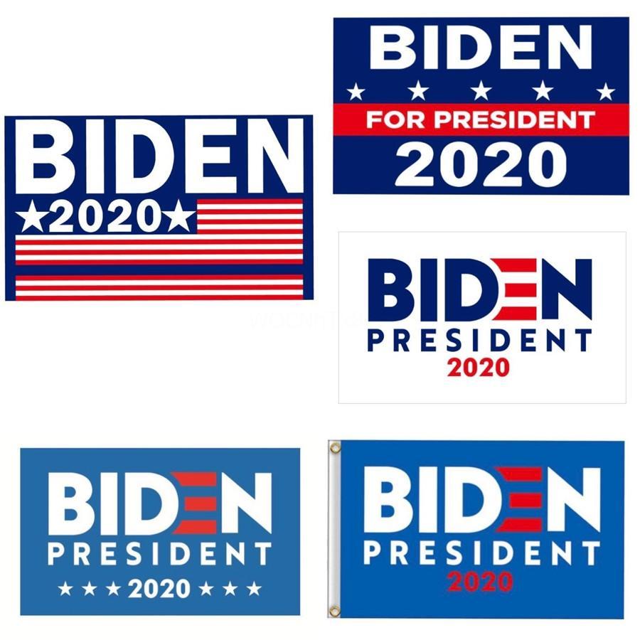 90X150Cm Donald Biden 2020 Flag Print Keep America Great Banner Garden Window Decor For President Usa American Flag 120 1Pcs Ljja2047#378