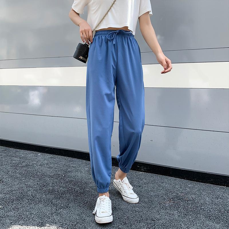 Mode Harajuku Tanzhose New Japan lose Hochstreet Hip Hop Hosen Solide Sommer Jogginghose Mädchen-kühle Hosen